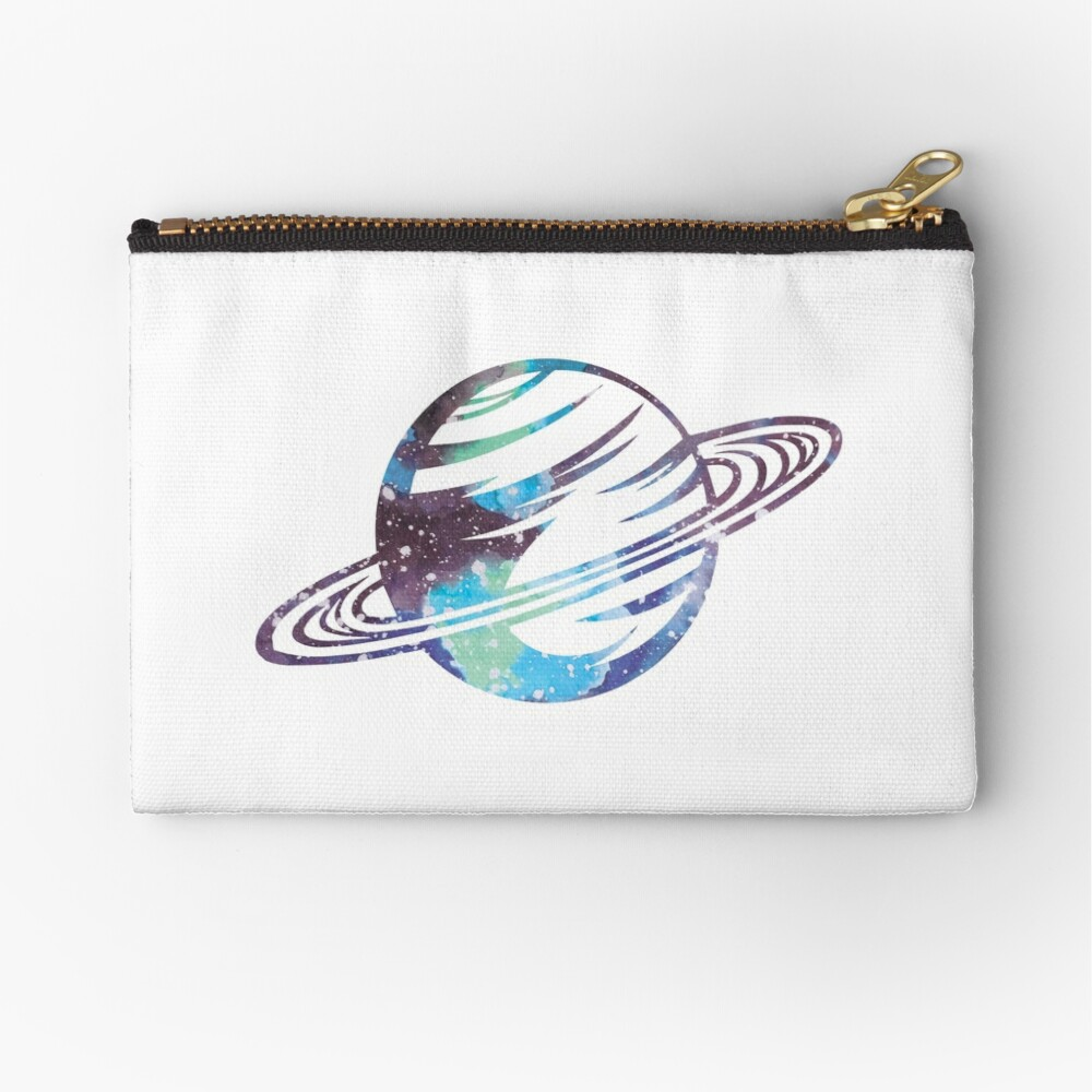 Saturn Zipper Pouch