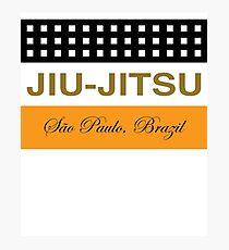 Brazilian Jiu-Jitsu Cigar Theme Photographic Print