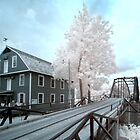 War Eagle Mill & Bridge - infrared 2 by mal-photography