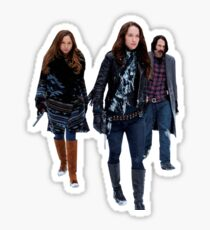 Wynonna Earp and the team - Waverly Earp, Doc Holliday Sticker
