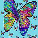 Butterfly-Flutteby..Tee by MaeBelle