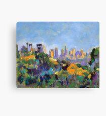 Los Angeles Hollywood Hills Hike Canvas Print