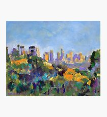 Los Angeles Hollywood Hills Hike Photographic Print