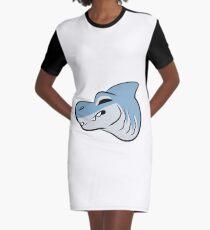 Shark snoot Graphic T-Shirt Dress