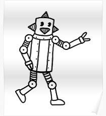 Vintage CP Robot 2 Poster