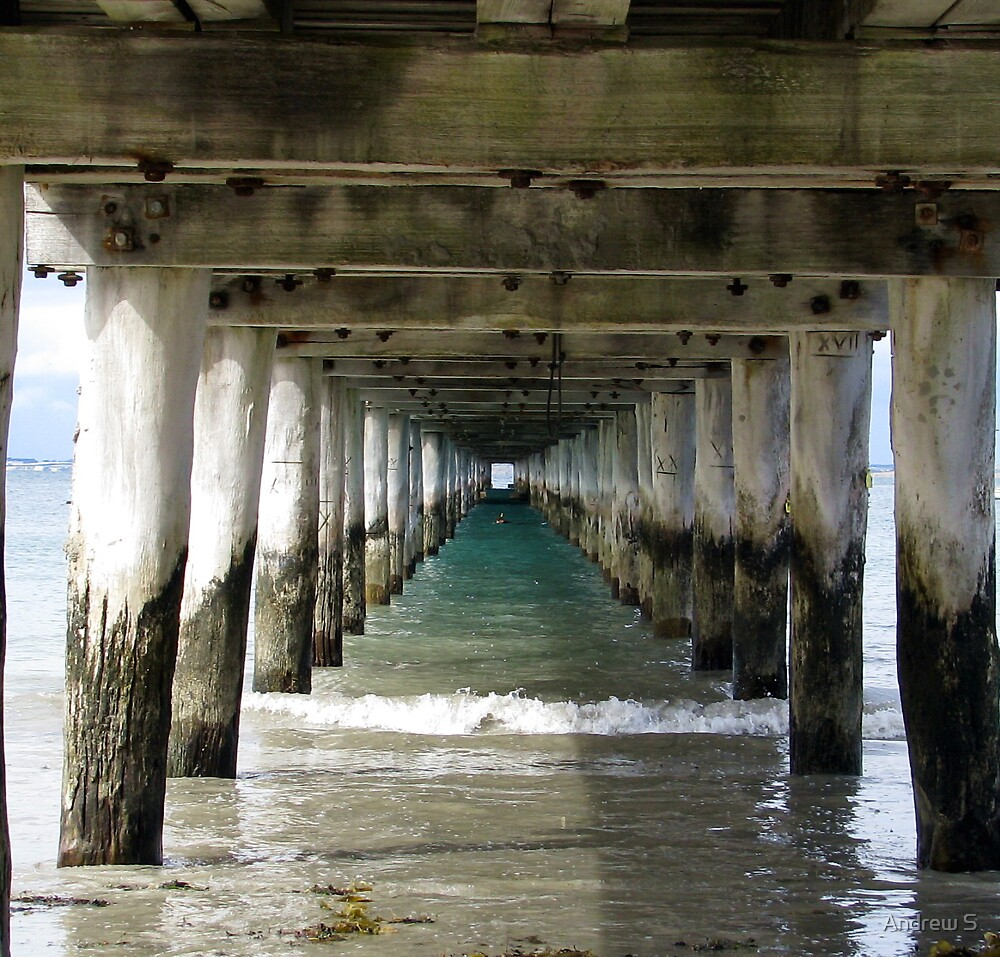 Under The Pier by Andrew S