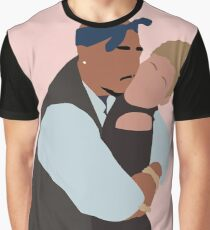 Pac and Jada Love Graphic T-Shirt