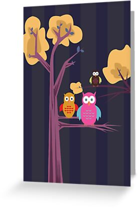 Owls 3 by Adam Santana