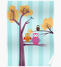 Owls Poster