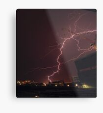 Brisbane lightning - 22/10/2012 Metal Print