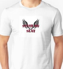 State Of Slay Square Logo Unisex T-Shirt