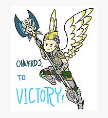 Smite - Onwards, To Victory (Chibi) Photographic Print