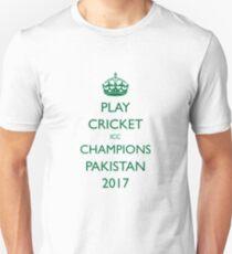 Pakistan Cricket Team 2017 Unisex T-Shirt