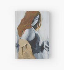 Painting grace with ginger hair Hardcover Journal