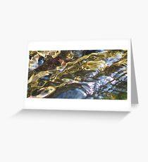 Fluid Metals Greeting Card