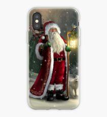 The Christmas Traveler iPhone Case