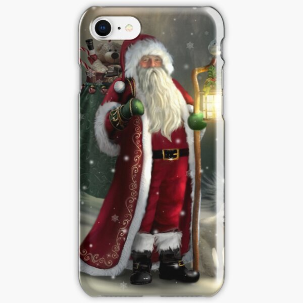 The Christmas Traveler iPhone Snap Case
