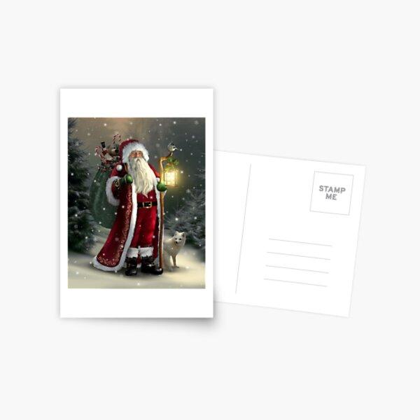 The Christmas Traveler Postcard