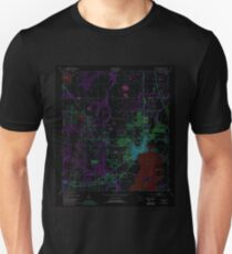 USGS TOPO Map Florida FL Kissimmee 346943 1953 24000 Inverted Unisex T-Shirt