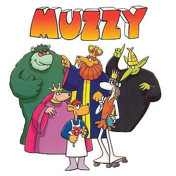 Muzzy by pinkney