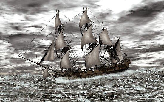 Rough Seas by Walter Colvin