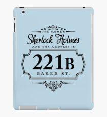 221B BAKER ST. iPad Case/Skin
