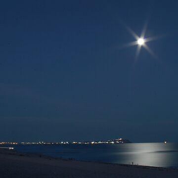 Moon Over Penasco by acthinian
