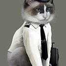 PILOT CAT by MEDIACORPSE