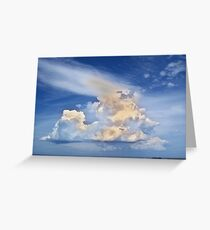 God's Eye View Greeting Card