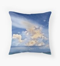 God's Eye View Throw Pillow