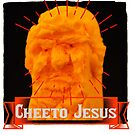 Cheeto Jesus Saves (by not paying taxes or employees) by #PoptART products from Poptart.me