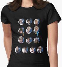 No Sir, All Thirteen Women's Fitted T-Shirt