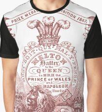 Melton Butter lettering Graphic T-Shirt