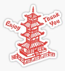 Chinese Food Take Out Sticker