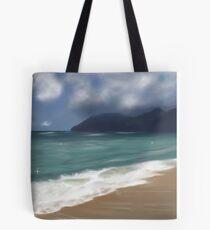 Warm Hawaiian Waves  Tote Bag