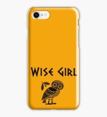 Wise Girl-Annabeth Chase iPhone Case/Skin
