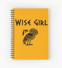 Wise Girl-Annabeth Chase Spiral Notebook