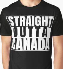 Straight Outta Canada, Canada Day, Canada 150 Graphic T-Shirt