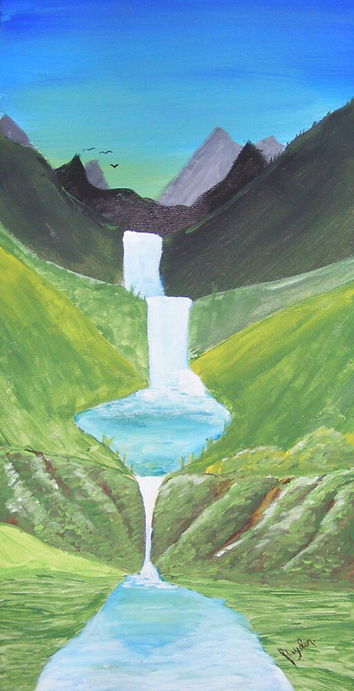 Waterfall by Hayden Brown