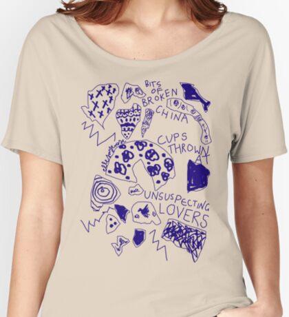'Broken Love China' Women's Relaxed Fit T-Shirt
