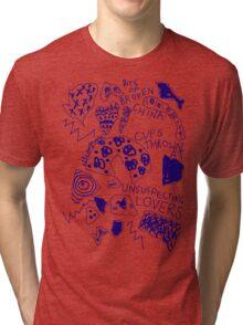 'Broken Love China' Tri-blend T-Shirt