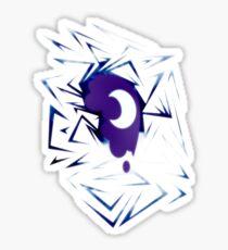 Shards of Nightmare Moon's Cutie Mark Sticker