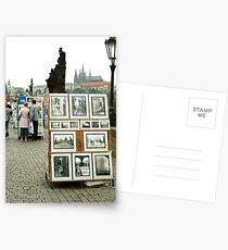 Charles Bridge in Prague Postcards