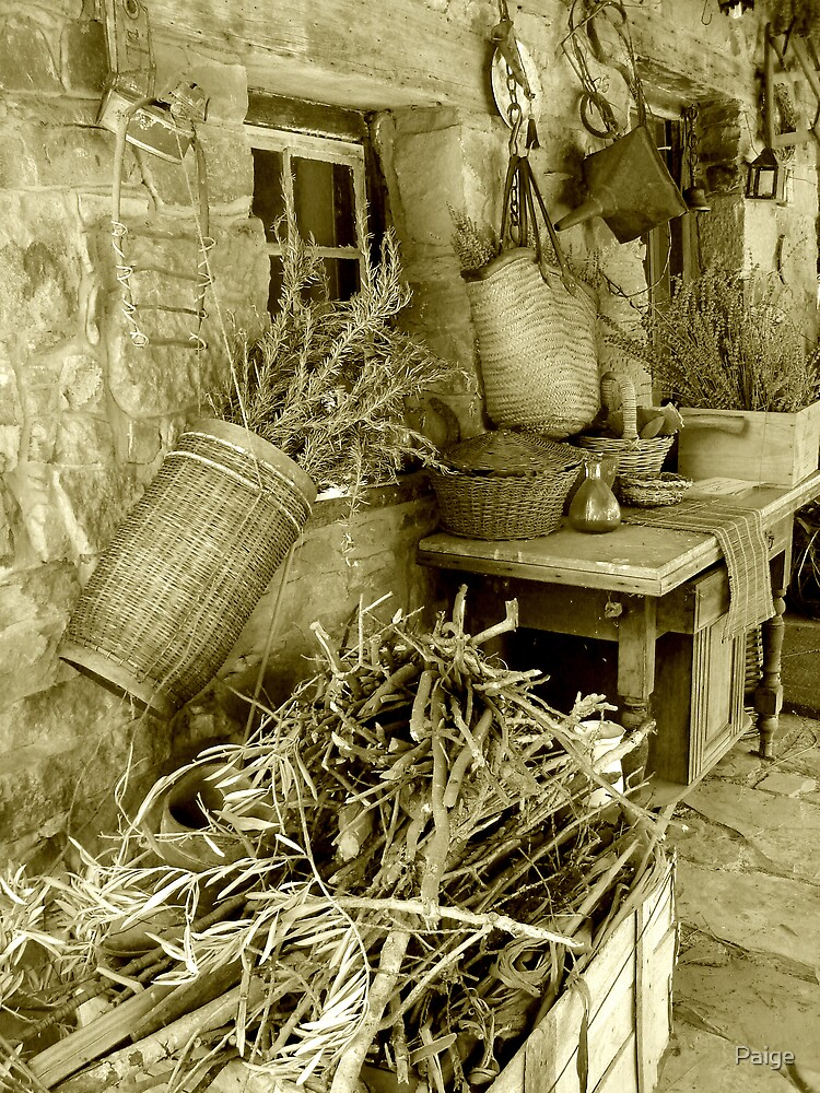 Country clutter by Paige