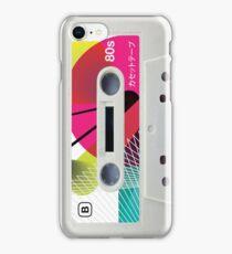 Retro Cassette Tape ~ Japanese 01 iPhone Case/Skin
