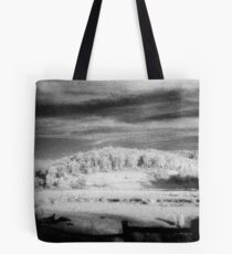 big hill little fence.........daniland Tote Bag