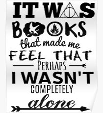books made me feel Poster
