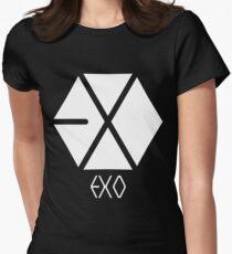 Exo Logo Women's Fitted T-Shirt