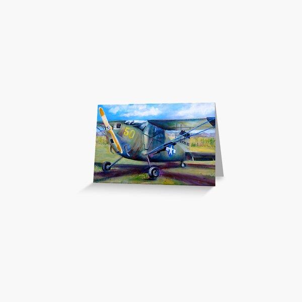 Stinson L-5 Greeting Card