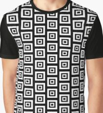 B&W SQUARE LUX PARTY Graphic T-Shirt